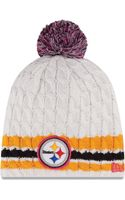 New Era  Pittsburgh Steelers Breast Cancer Awareness Knit Hat - Lyst