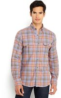 French Connection Cobra Plaid Flannel Shirt - Lyst