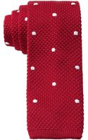 Tommy Hilfiger Spring Dot Knit Slim Tie - Lyst