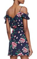 Joie Sari Floralprint Offshoulder Dress - Lyst