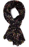 Forever 21 Floral Woven Scarf - Lyst