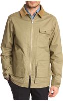 Gant Rugger Satchel Khaki Jacket with Rear Pocket Detail - Lyst