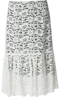 Clements Ribeiro Luiza Lace Skirt - Lyst