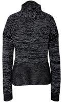 Jil Sander Cashmere Marled Knit Pullover - Lyst