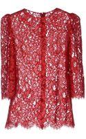Dolce & Gabbana Blouse - Lyst
