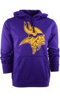 Nike Mens Minnesota Vikings Warp Performance Hoodie - Lyst
