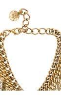 Erickson Beamon Charm Necklace - Lyst