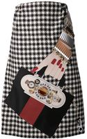 Holly Fulton Houndstooth Dress - Lyst