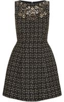 Alice + Olivia Pena Embellished Tweed Dress - Lyst