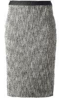 MSGM Pencil Skirt - Lyst