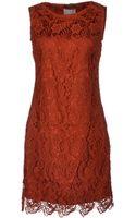 Roberta Scarpa Short Dress - Lyst