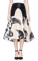 Ellery Sands Of Time Assorted Paisley Print Organza Skirt - Lyst