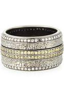 Stephen Webster Mens Sapphire  Diamond Pave Ring - Lyst
