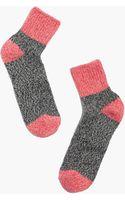 Madewell Marled Colorblock Ankle Socks - Lyst