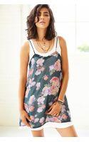 Mink Pink Light Floral Breeze Tank Dress - Lyst