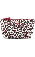 Tory Burch Printed Nylon Trapeze Cosmetic Bag - Lyst
