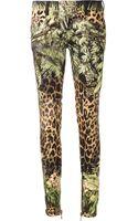 Balmain Jungle Skinny Jeans - Lyst