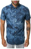 RVCA The Thatll Do Tye Dye Short Sleeve Buttondown - Lyst