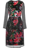 Erdem Embellished Jacquard and Organza Dress - Lyst
