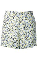 Equipment Lewis Floral Shorts - Lyst