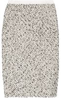 Oscar de la Renta Cottonblend Tweed Pencil Skirt - Lyst