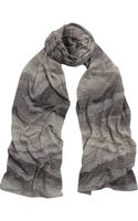 Missoni Metallic Knitted Wrap Scarf - Lyst