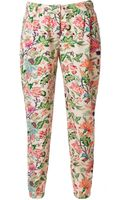 Tommy Hilfiger Finny Floral Pants - Lyst