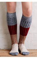 Anthropologie Colorblock Boot Socks - Lyst