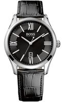 Hugo Boss Ambassador Watch with Leather Strap - Lyst