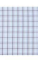 Ermenegildo Zegna Check Poplin Dress Shirt Bluegray - Lyst
