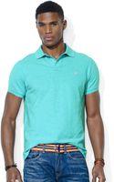 Polo Ralph Lauren Polo Customfit Mesh Polo Shirt - Lyst