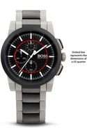 Hugo Boss  Chronograph Stainless Steel Bracelet Strap Neo Dial Watch - Lyst