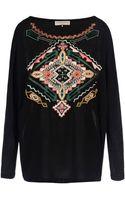 Emilio Pucci Long Sleeve Tshirt - Lyst