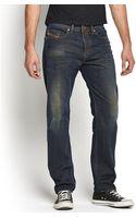 Diesel Buster 835h Mens Regular Slim Tapered Jeans - Lyst