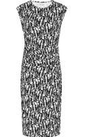 Reiss Rica Print Jersey Dress - Lyst