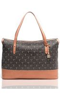 Tommy Hilfiger Monogram Coated Canvas Tote - Lyst