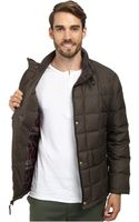 Cole Haan Down Jacket W Box Quilt - Lyst