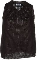 Moschino Cheap & Chic Sleeveless Sweater - Lyst