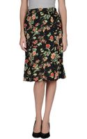 Stephan Janson Knee Length Skirt - Lyst