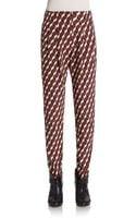 Apiece Apart Petra Printed Cotton  Silk Pants - Lyst