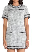 Rachel Zoe Riley Tweed Dress - Lyst