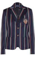 Polo Ralph Lauren Wool and Cottonblend Cricket Jacket - Lyst