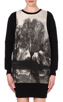Stella McCartney Forest-print Oversized Sweatshirt - Lyst