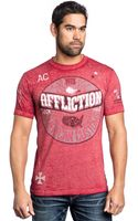 Affliction Ac Anthem 5050 Graphic Tshirt - Lyst