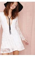 Nasty Gal Get Laced Dress - Lyst