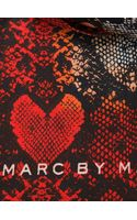 Marc By Marc Jacobs Snake Skin Print Scarf - Lyst