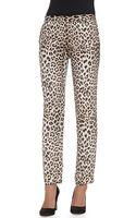 Haute Hippie Silk Leopardprint Trousers - Lyst