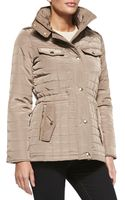 MICHAEL Michael Kors Quilted Puffer Anorak Jacket - Lyst