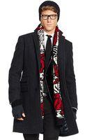 Polo Ralph Lauren Polo Herringbone Wool Topcoat - Lyst
