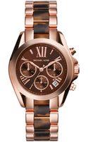 Michael Kors Ladies Tortoise Shell Sport Watch - Lyst